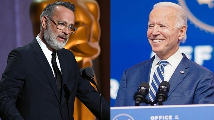 Tom Hanks to host Biden inauguration TV show