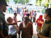 Violence flares ahead of local body polls