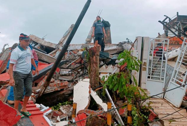 Indonesia quake toll rises to at least 34