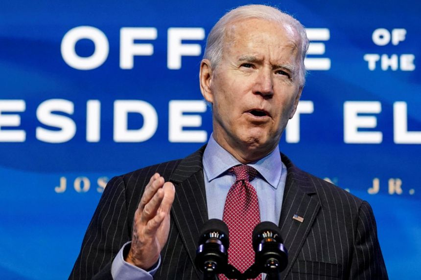 Biden unveils $1.9 tn economic plan as US recovery buckles