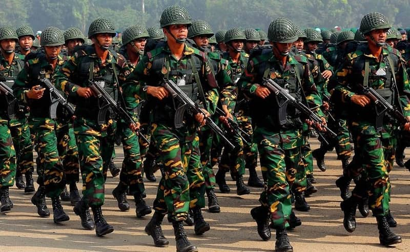 Bangladesh becomes 45th military power in the world