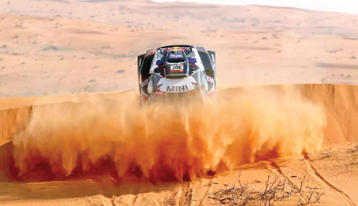 Explorer Horn in Saudi sands seeks a rally without petrol