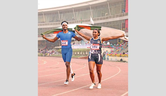 Jahir, Shirin dominate Bangabandhu Nat'l Athletics