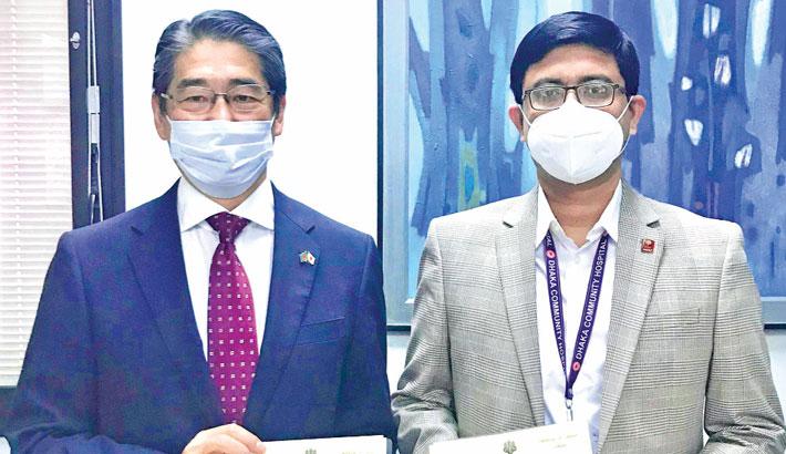Japan awards DCHT a $68,633 grant