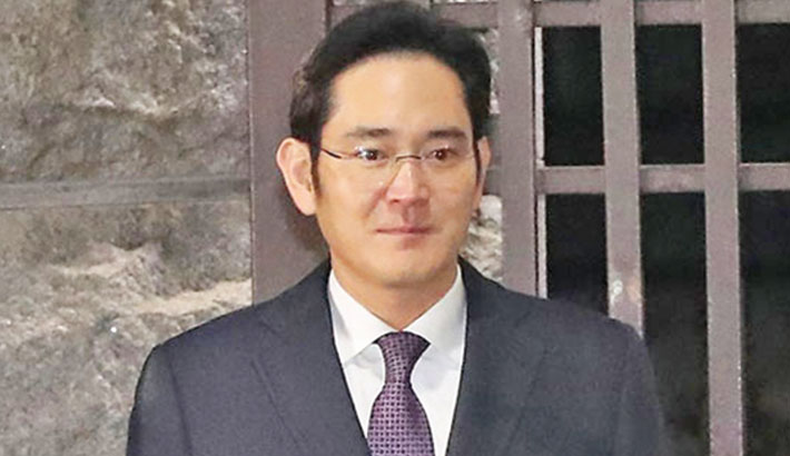 Samsung chief jailed for 2.5 years over graft scandal