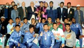 Ansar emerge champions in Services Wrestling