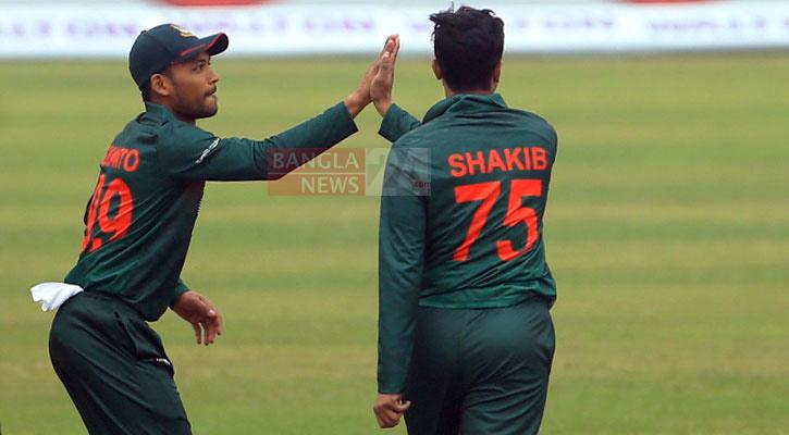 Bangladesh restrict West Indies to 122