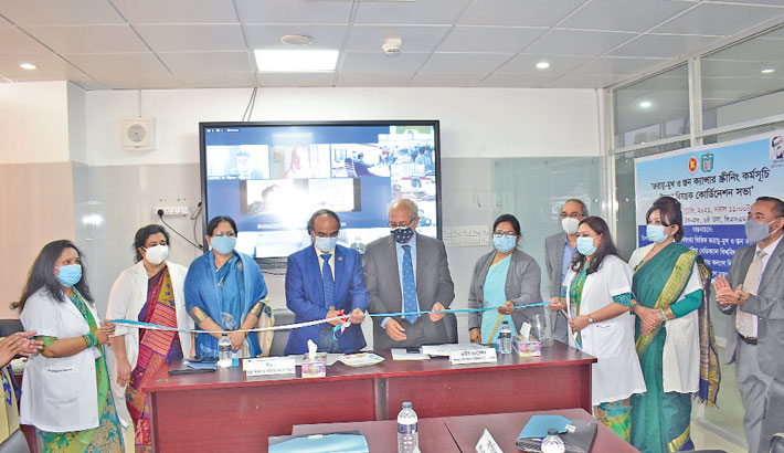 Md Ali Noor inaugurates the Prevention of Cervical and Breast Cancer Week