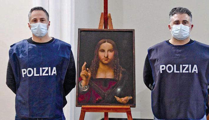 500-year-old stolen copy of Leonardo da Vinci found