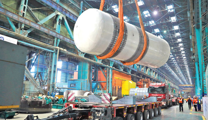 Atommash ships nuclear plant equipment to Bangladesh