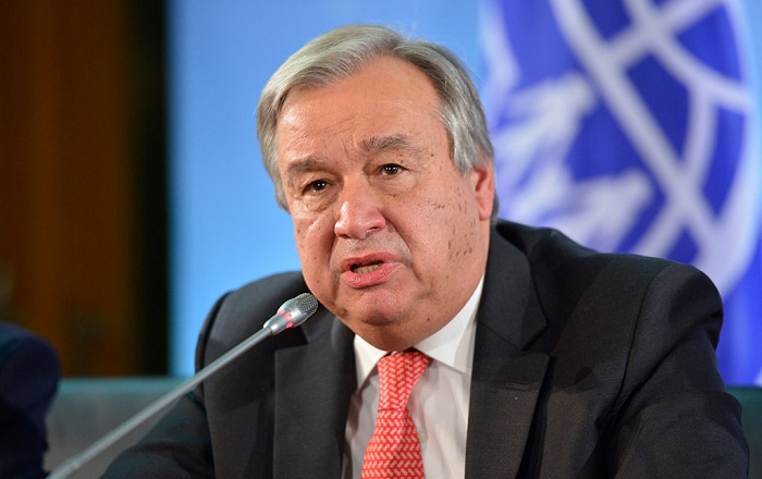 UN chief welcomes US return to Paris Agreement