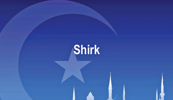 Excessiveness leads to shirk
