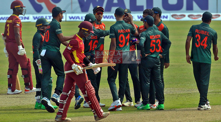 Bangladesh bowl first in 2nd ODI against West Indies