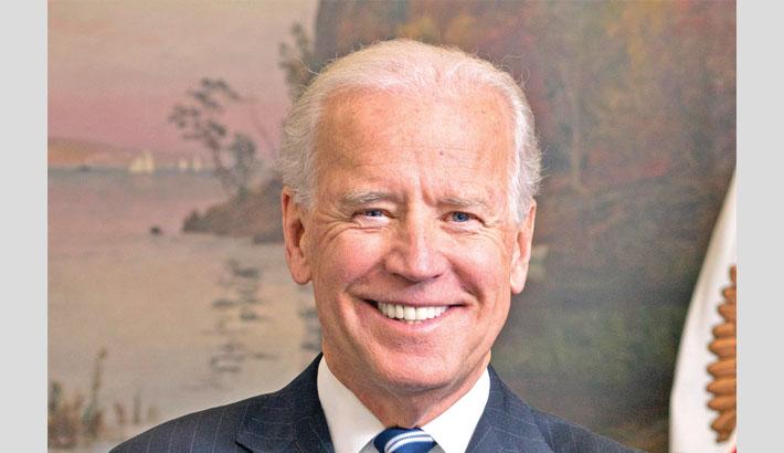 Hasina greets Biden
