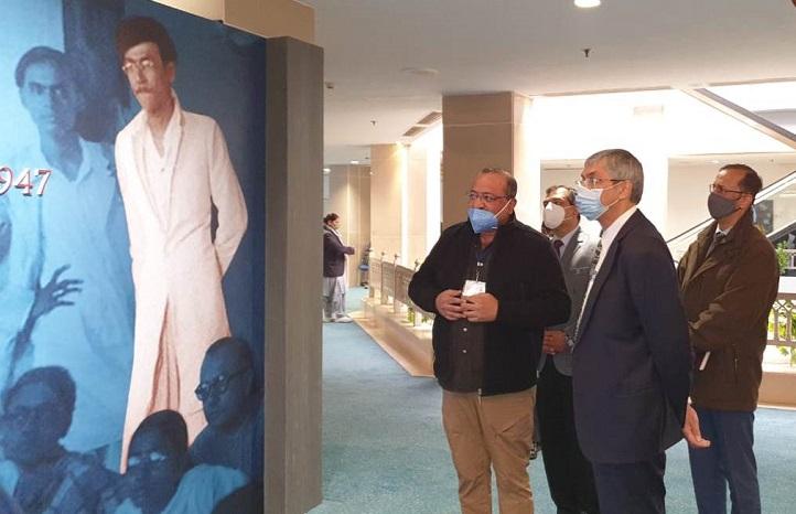 Bangladesh envoy to India visits Bangabandhu-Bapu digital exhibition