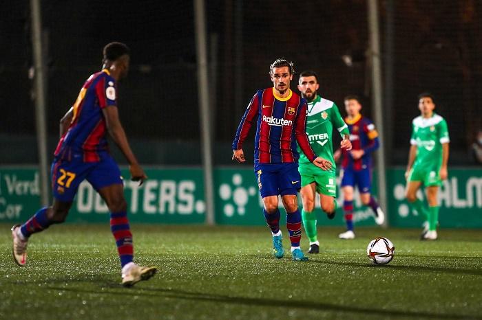Barcelona labour past third-tier Cornella in Copa del Rey