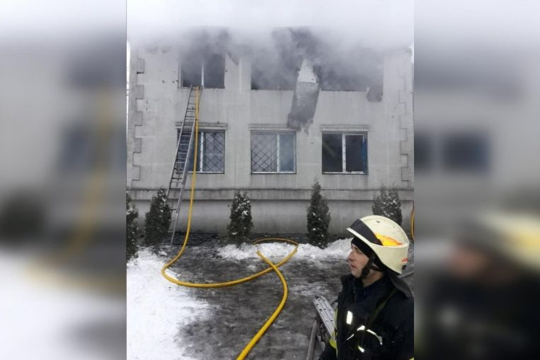 15 dead in Ukraine nursing home fire