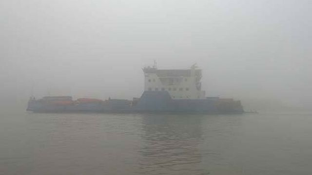 Dense fog disrupts ferry services