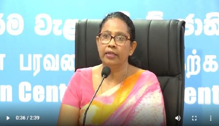Sri Lankan health minister tests positive for Covid-19