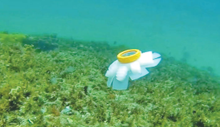 Robot 'jellyfish' to protect endangered coral reefs