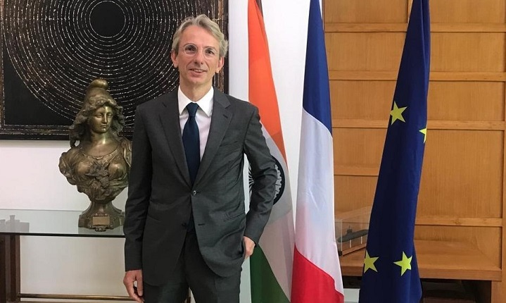 French Ambassador expresses gratitude to India for shipping medicine during pandemic