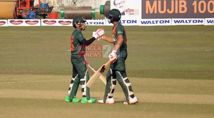 Bangladesh set 298 runs target for West Indies
