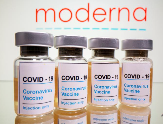 Moderna says COVID-19 vaccine appears to be effective against new variants