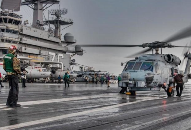 US carrier group enters South China Sea amid rising China-Taiwan tensions