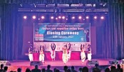Local artistes perform at the closing ceremony of the 19th Dhaka International Film Festival