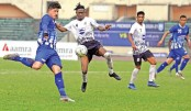 Sk Russel, Mohammedan match ends in 1-1 draw
