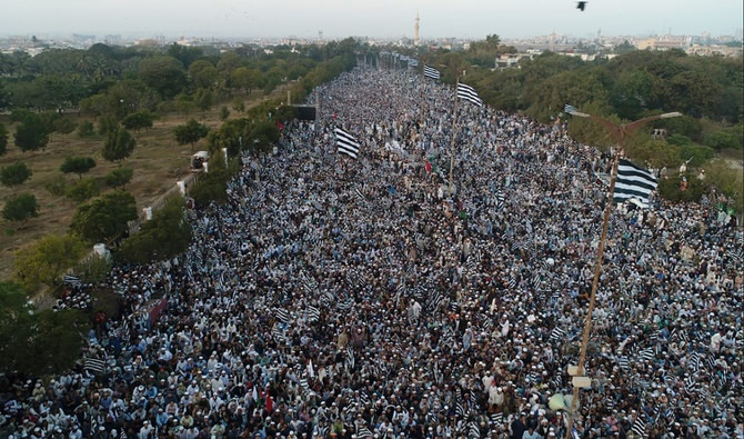 Massive opposition rally says no Pakistani will ever allow diplomatic recognition of Israel
