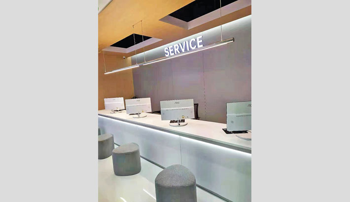 OPPO opens new service centre at Bashundhara City