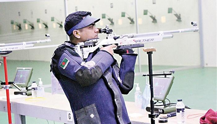 Baki eyes final in Asian Shooting Championship