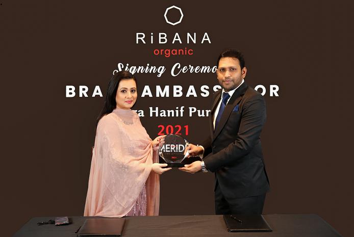 Purnima becomes brand ambassador of Ribana