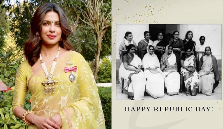 Priyanka celebrates 15 women who helped draft the Indian Constitution on Republic Day