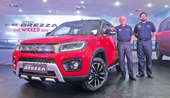Uttara Motors unveils new SUZUKI Vitara Brezza