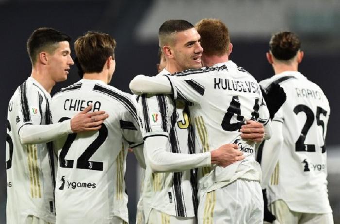 Atalanta down Lazio as Juve also reach Cup semis