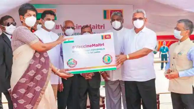 India sends 6 lakh Covid vaccine doses to Sri Lanka and Bahrain