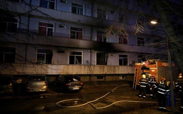 Hospital fire kills four Covid-19 patients in Romania