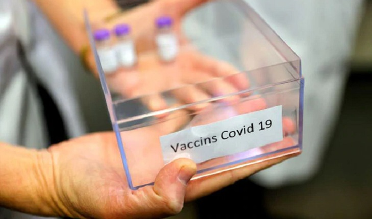 Vaccine being sent across country