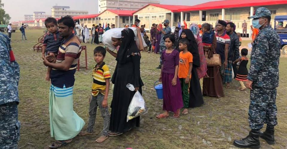 1,466 more Rohingyas reach Bhasan Char