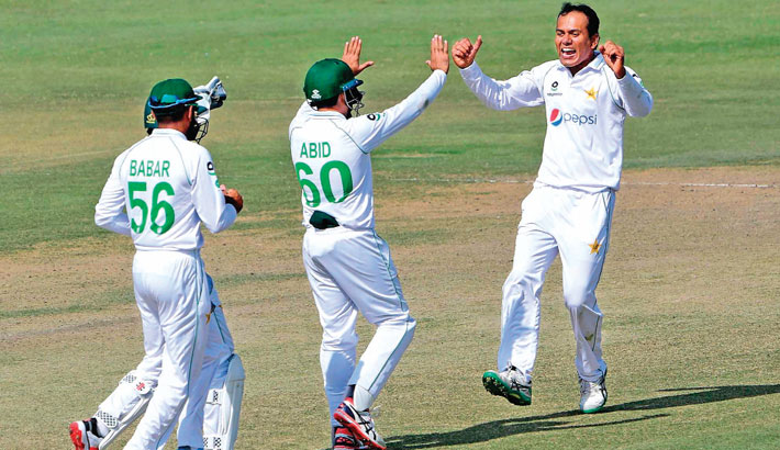 Nauman and Yasir shine in Pakistan win