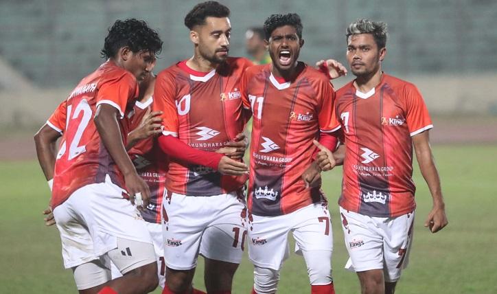 Bashundhara Kings ready for Mohammedan test Monday