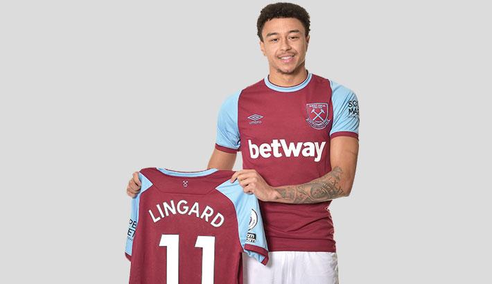 Lingard joins West Ham on loan