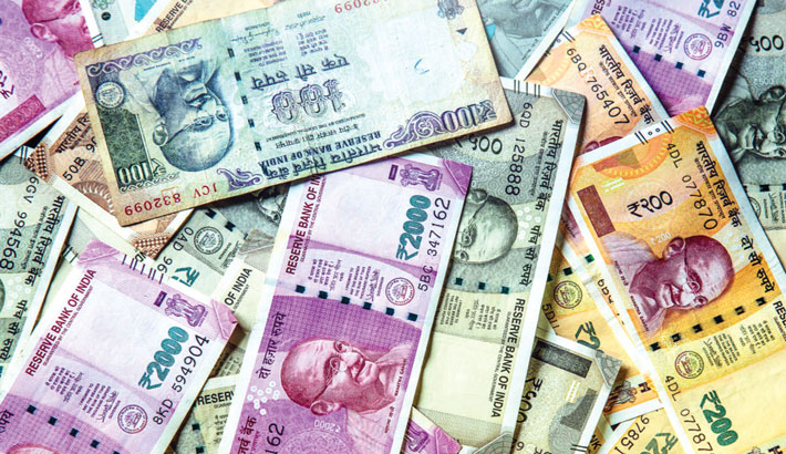 Indian rupee to finish at