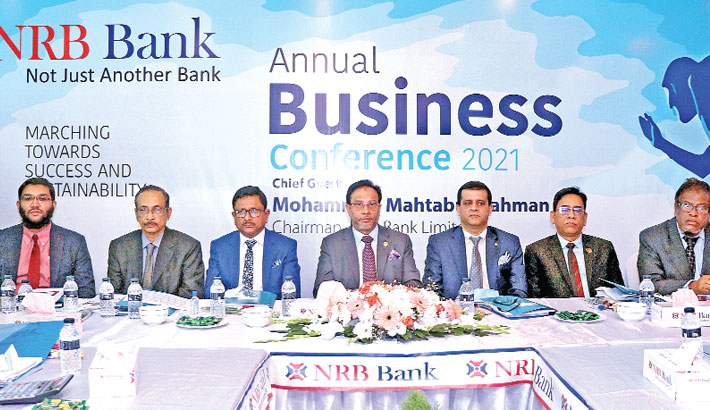 NRB Bank  holds annual  business confce