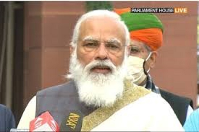 Budget session a golden opportunity: Indian PM Modi