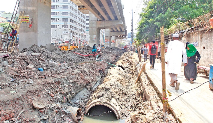 Separate sewage lines from water bodies within March: DNCC