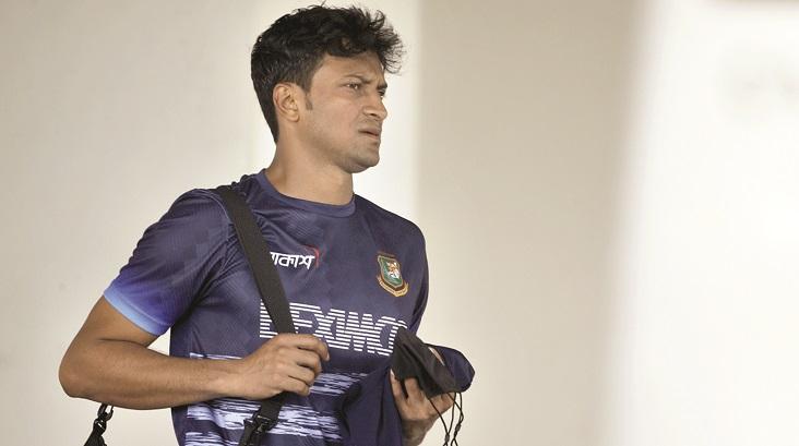 Shakib appears perfect ahead of 1st Test