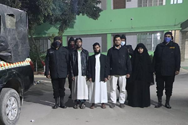 4 'Ansar al Islam' men held